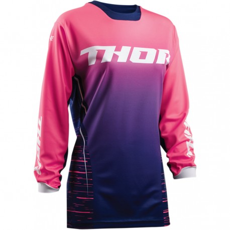 Dámsky dres Thor Pulse Dashe S8W Navy / Pink